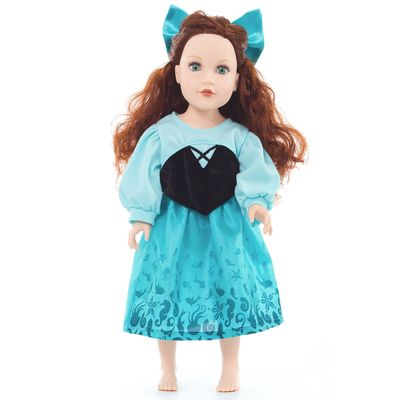 VESTIDO-PARA-MUÑECA-PRINCESA-ARIEL-LITTLE-ADVENTURES-