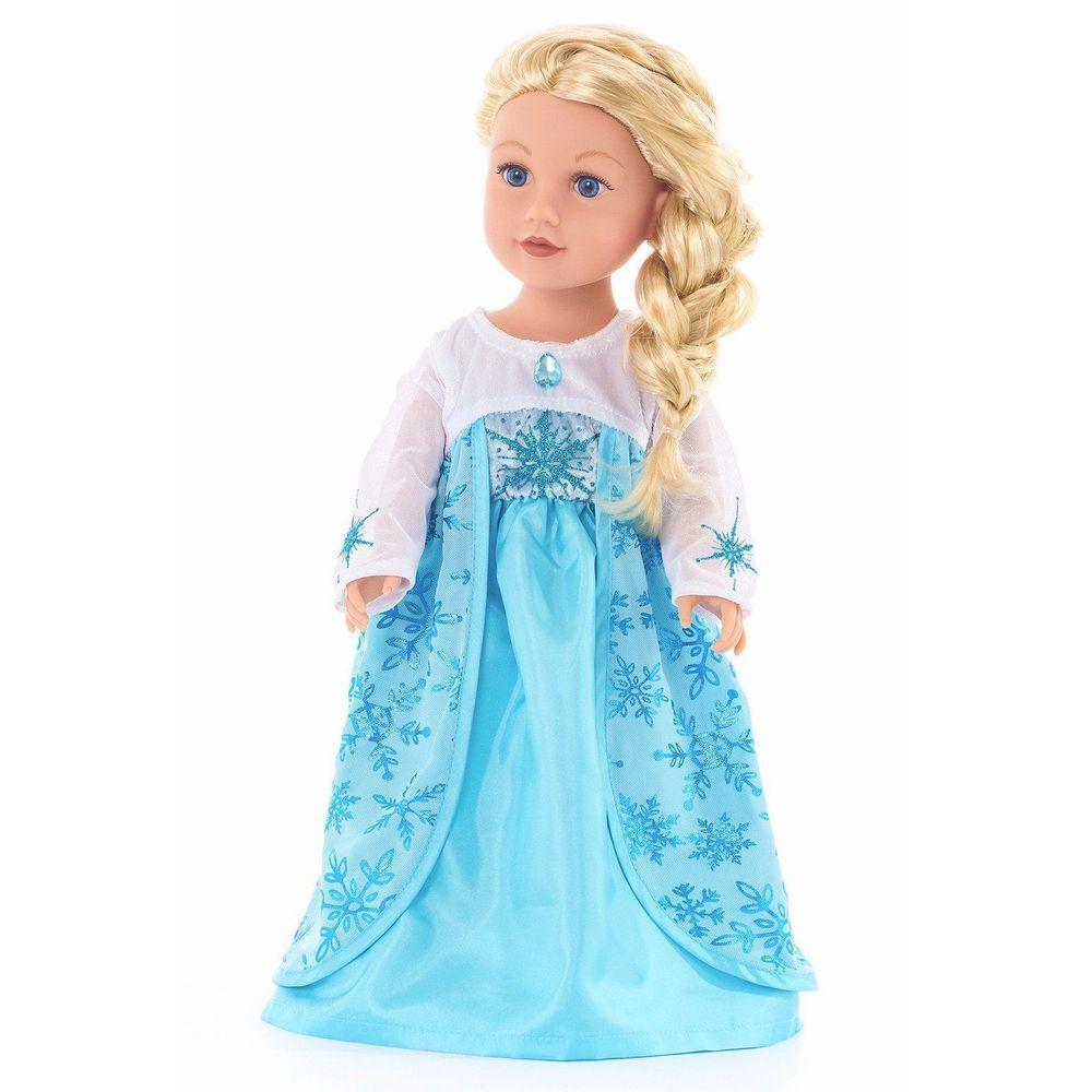 Vestido Para Muñeca Princesa Frozen