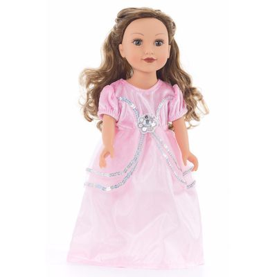 VESTIDO-PARA-MUÑECA-ROYAL-PINK-LITTLE-ADVENTURES-