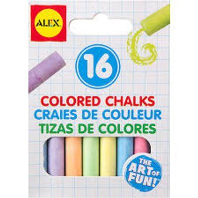 ALEX-TOYS-TIZAS-COLORES-16-UNIDADES-