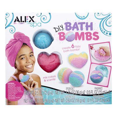 ALEX-TOYS-SET-PARA-CREAR-BOMBAS-BAÑERA-6-UNIDADES-