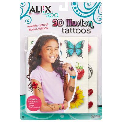 ALEX-TOYS-SET-TATTOOS-3D-ILLUSION-
