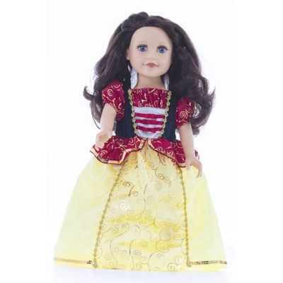VESTIDO-PARA-MUÑECA-BLANCANIEVES-LITTLE-ADVENTURES-