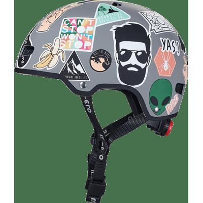 Casco-Sticker